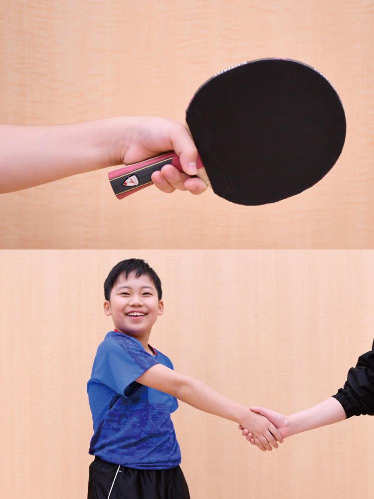 卓球 ラケット 持ち 方