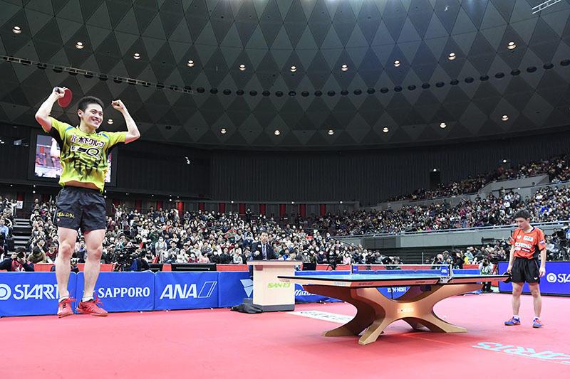 dcf21aec8b6a9 全日本卓球2019 男子シングルス決勝は大島と水谷。怪物・張本は大島に苦 ...