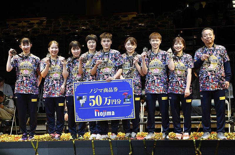 a410d930202 3月17日、両国国技館でTリーグの年間王者を決めるプレーオフ・ファイナルが開催された。  女子はレギュラーシーズン1位の木下アビエル神奈川と、2位の日本生命レッド ...